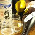 プレミアム焼酎や日本酒もお好きなだけ飲み放題!!