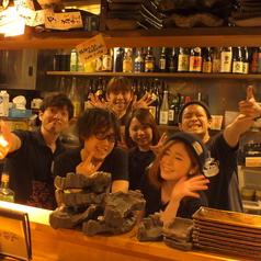 スタッフは皆元気&和気あいあい!お客様の笑顔を沢山見たいから、今日もおもてなしの心をもって皆様をお迎えいたします!