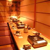 お座敷個室は宴会利用に人気のお部屋です。
