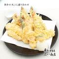 料理メニュー写真魚介の天ぷら盛り合わせ