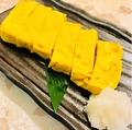料理メニュー写真国産鶏出汁の親子出汁巻き