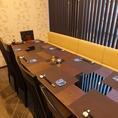 ゆったりと落ち着いた雰囲気のラウンジ席です。、完全個室となっているので、接待や法事、会社宴会にもピッタリです。