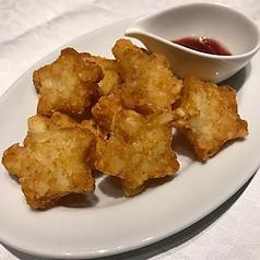 料理メニュー写真星ッシドポテト