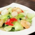 料理メニュー写真46.海鮮と野菜炒め