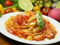 料理メニュー写真リコピンパスタ