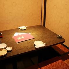 大切な方との大事な時間は二人きりの空間、完全個室でお過ごしください。美味しいお酒とお料理で非日常的なお時間を。。 ※系列店との併設店舗です。