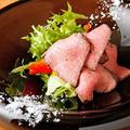 料理メニュー写真熊野牛ローストビーフ