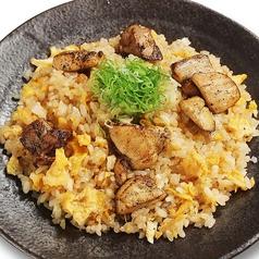 鶏の炭火焼炒飯