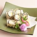 旬菜と海苔巻の天ぷら