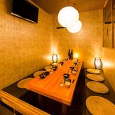 ご宴会向けの完全個室はお勤め先での飲み会・ご接待・誕生日会等にもオススメです。落ち着いた和空間でお酒とお食事をゆったりとお愉しみ下さいませ