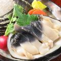 料理メニュー写真苫小牧産 北寄貝の刺身