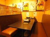 2~4名様のテーブル席。