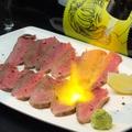 料理メニュー写真熟成肉の炙りローストビーフ