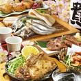 宴会は宗谷黒牛,山形豚,阿波尾鶏,九州鮮魚♪