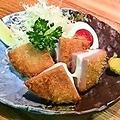 料理メニュー写真燻製ハムチーズかつ