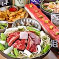 すすきの駅徒歩1分♪2名様~ご案内☆一部個室もご用意しております!新鮮な生ラムを使用したジンギスカンなどの肉料理や北海道の海鮮料理が自慢のお店です♪各種宴会や女子会・誕生日会・記念日など様々な用途でご活用いただけます!宴会向けの飲み放題付きコースは2500円~♪