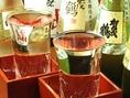 広島は西条市や呉市のお酒を毎月おすすめしております。酒米の王様「山田錦」を使用した『龍勢』や『雨後の月』、『西條鶴』など、こだわりの地酒を取り揃えておりますので、県外からのお客様へのおもてなしなど、大切なご宴会や接待にぴったりです。