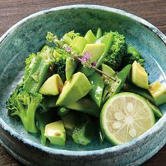 料理メニュー写真五十六屋 グリーンサラダ ー湯布院長寿畑の椎茸ドレッシングー