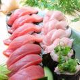 一家の人気メニュー!【本格握り寿司】※設備欄にて、一家が送る旬の特選素材やこだわり食材を詳細にて写真とともにご覧頂けます!