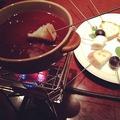 料理メニュー写真チョコレートフォンデュ