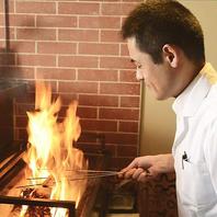 厨房では熟練の職人が皆様を精一杯のおもてなしを・・・