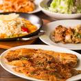 チーズ唐揚げなどチーズをたっぷり使用したメニューのほか、スペイン料理にインド料理、お酒に合う女性好みのおつまみを、ジャンルにこだわらず厳選してラインアップ。サラダや生春巻きなどヘルシーなメニューも充実しています!