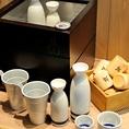 かいえん自慢の全国から厳選した日本酒の数々をあなた好みの熱燗でお楽しみください!最高の鮮度抜群の魚料理と厳選した日本酒とのマリアージュをお楽しみ下さい。