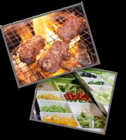 熟練の肉のプロが、常に味をチェック!