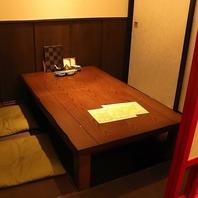 プライベート利用に最適な完全個室。