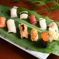 コースでも単品でも是非、お寿司をご堪能下さい。
