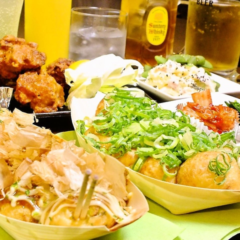 名古屋初★たこ焼き居酒屋はココ!本場大阪の味をそのまま名古屋で発信♪