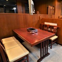 [1F]テーブル席