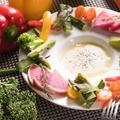 料理メニュー写真糸島野菜のバーニャカウダー