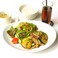 ランチタイム週替わりで期間限定おすすめメニューございます。7/16-22 茄子豚定食