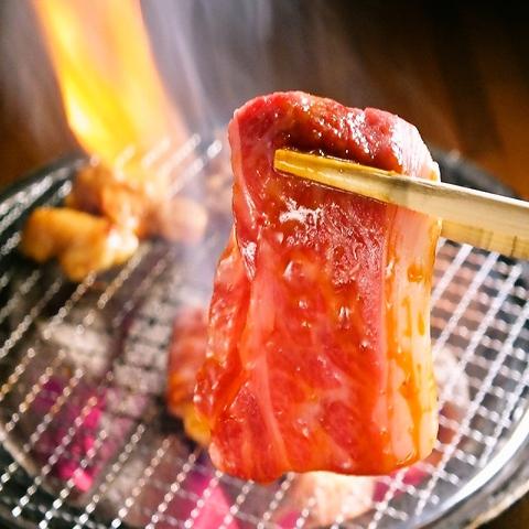 西中島で大人気!!極旨!焼肉!食べ飲み放題3100円~!!お得な焼肉宴会実施中