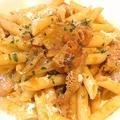 料理メニュー写真トリッパ(牛胃袋)トマト煮込みのペンネ