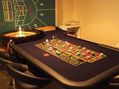ルーレット専用のテーブル席