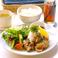 ランチタイム週替わりで期間限定おすすめメニューございます。8/7-13 竜田揚げ定食