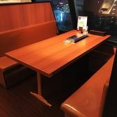 【6名がけテーブル席】