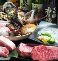 播州姫路の瀬戸内鮮魚・播州百日鶏・但馬牛でおもてなし
