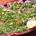 料理メニュー写真ねぎタン塩(小皿)