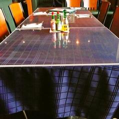 4名様用のテーブル×7