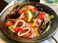 料理メニュー写真魚貝のパエリア/地鶏のパエリア(2人前)