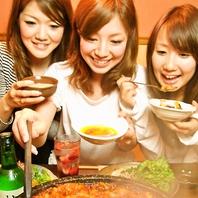 ここでしか味わえない韓国式石焼ホルモン鍋♪
