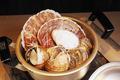 料理メニュー写真北海道各地。漁師の貝風呂。