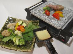 料理メニュー写真ラクレットコース