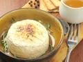 料理メニュー写真窯焼きハチミツカマンベール