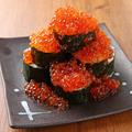 料理メニュー写真いくらこぼれ寿司