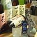 京都の地酒、ワイン、焼酎、梅酒を中心に。