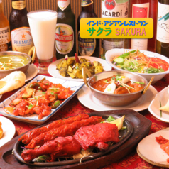 インドアジアンレストラン サクラの写真